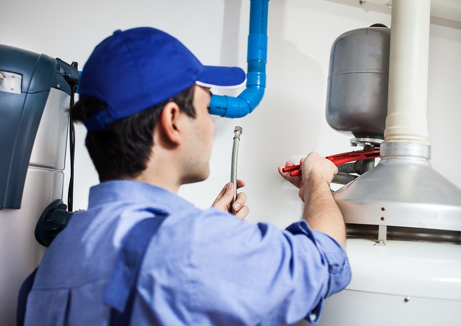 Gas & Electric Hot Water System